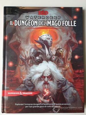 Clicca per immagine full size  ==============  D&D: Waterdeep - Il Dungeon del Mago Folle